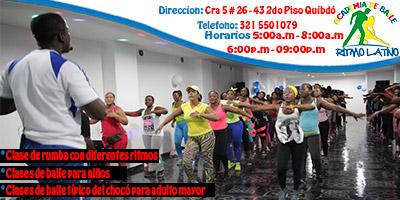 Academia de Baile Ritmo Latino en Qubdó